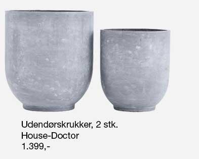 Gard krukker fra House Doctor. Krukkerne findes i flere størrelser.