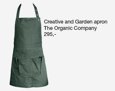 Haveforklæde fra The Organic Company