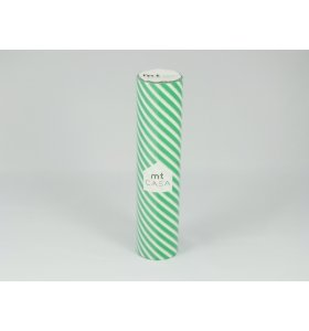 mt - Masking Tape - Mt Casa 20 cm, Stripe Green