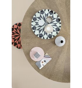 ferm LIVING - Star Tray rose