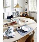 OYOY Living Design - Dækkeservietter lysegrå 2 stk. 110075