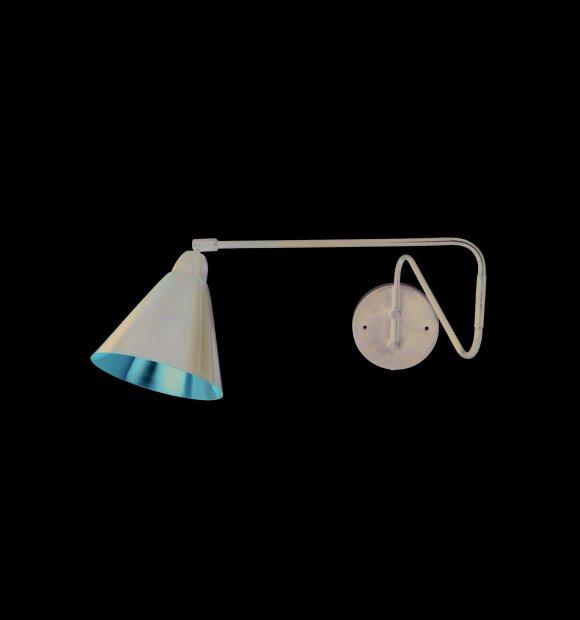 House-Doctor - Væglampe, Game sort/kobber
