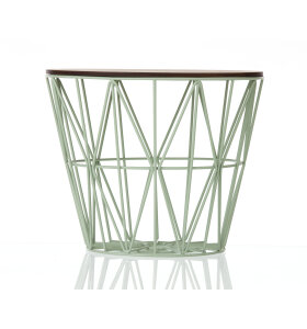 ferm LIVING - Wire basket - L - mint - HENT SELV vare