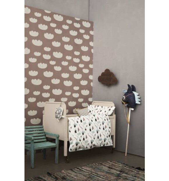 ferm LIVING Kids - Tapet, Cloud, rose
