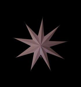 House Doctor - Stjerne 9-benet grå 60 cm.