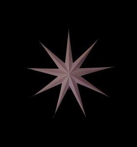 House Doctor - Stjerne 9-benet grå 87 cm.