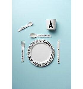 Design Letters - Tallerken med AJ bogstaver