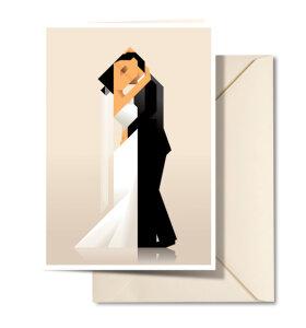 Martin Schwartz - Bryllupskort