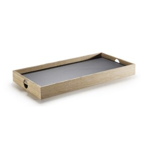 The Oak Men - Flip Tray small, sort/hvid