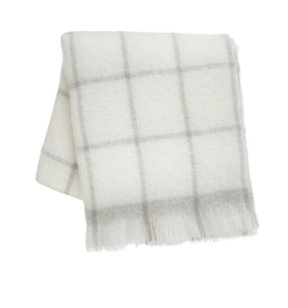 ferm LIVING - Mohair Plaid - Grå