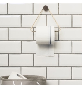 ferm LIVING - Messing Toiletpapir Holder