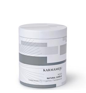 Karmameju - WOOD naturligt duftlys på sojavoks