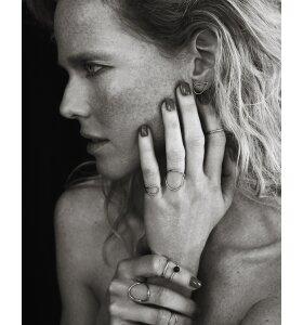Louise Kragh Smykker - O-fingerring guld - Enamel-04-03-g