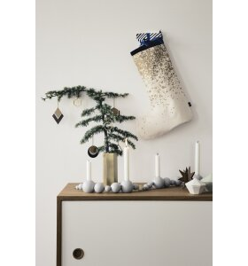 ferm LIVING - Messingophæng - Hexagon
