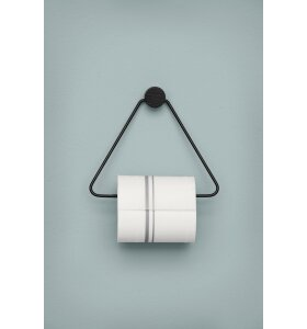 ferm LIVING - Toiletpapirsholder - Sort