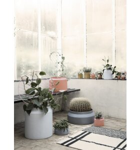ferm LIVING - Plant Wall - Circle - Grey