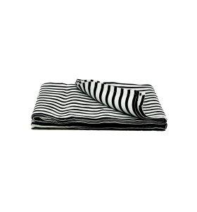 House-Doctor - Sengetæppe, Stripe, hør,140x200