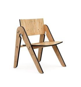 We Do Wood - Børnestol Lilly´s Chair - Sort