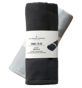The Organic Company - Towel To Go - genialt til yoga og sport