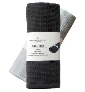 The Organic Company - Towel To Go - genialt til yoga og sport