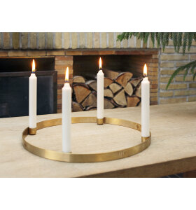 ferm LIVING - Candle Holder Circle - Large