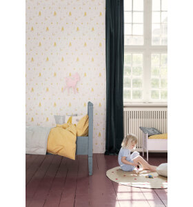 ferm LIVING Kids - Tapet, Forest, rose