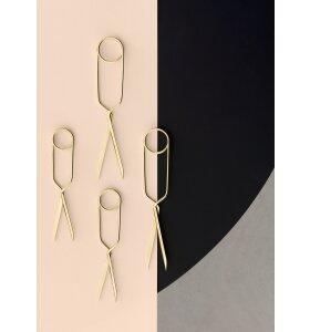 nomess COPENHAGEN - Spring Scissors S - Brass