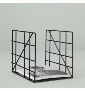 ferm LIVING - Magazine Holder - Sort