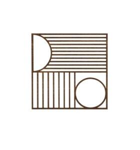 ferm LIVING - Outline Trivet - Square