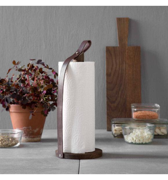 by Wirth - Hands On køkkenrulleholder, Røget eg