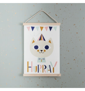 ferm LIVING - Tapet, Confetti, mint