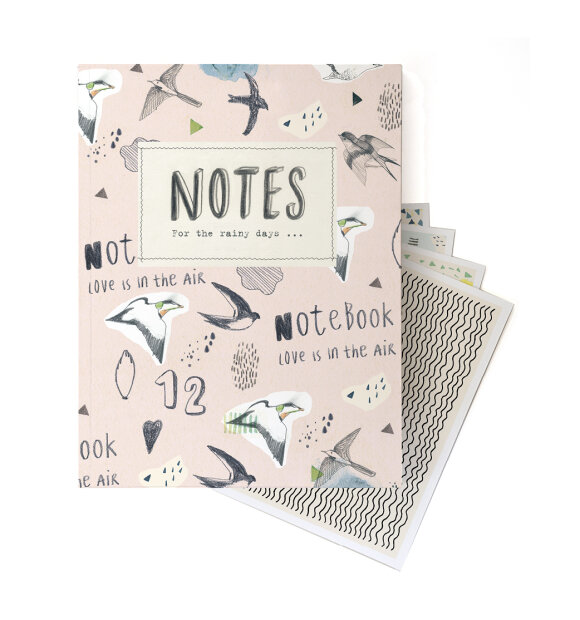 Bob Noon - For the Rainy Days Notebook