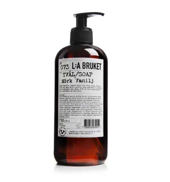L:A Bruket - Flydende Sæbe - 450 ml. Dark Vanilla