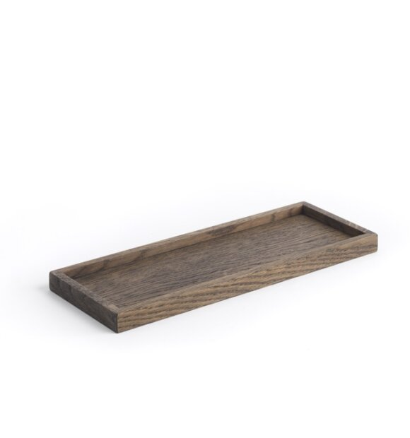 The Oak Men - Square Tray small, black oak