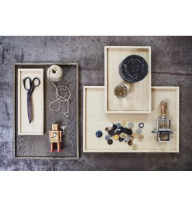 The Oak Men - Square Tray medium, oak