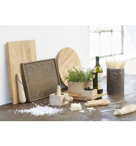 The Oak Men - Square Tray medium, black oak
