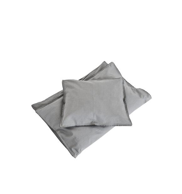 SEMIBASIC - Sengesæt junior, grå/grå