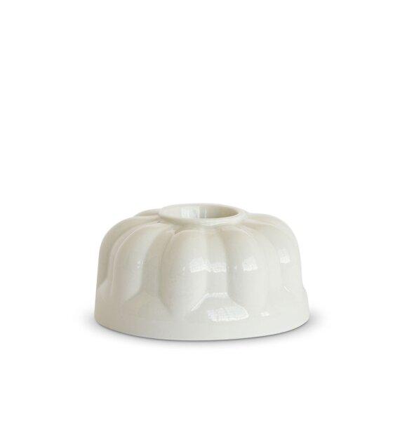 dottir NORDIC DESIGN - Alba Candlestick three white