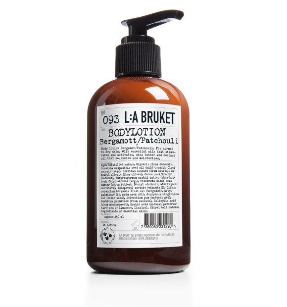 L:A Bruket - Bodylotion 250 ml. no. 093 Bergamot/Patchouli