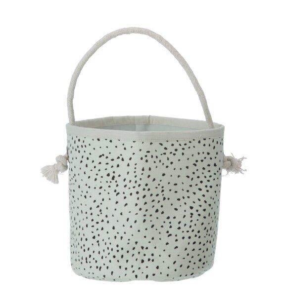 ferm LIVING Kids - Mint Dot basket mini