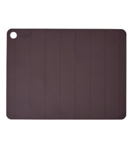 OYOY Living Design - Placemat - bordeaux 2 stk.