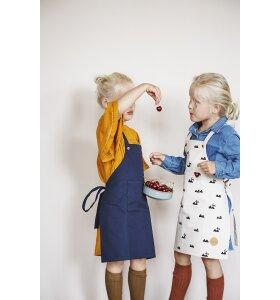 ferm LIVING Kids - Kids Apron, Blå