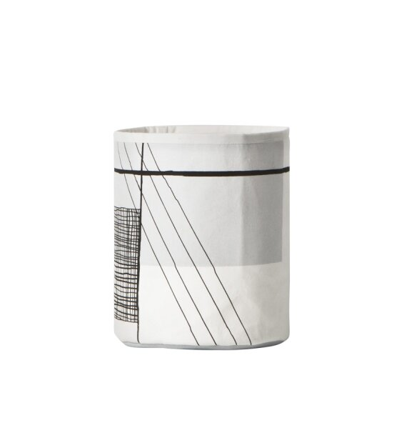 ferm LIVING - Trace basket, small