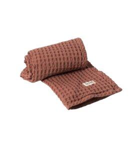 ferm LIVING - Øko håndklæde rust