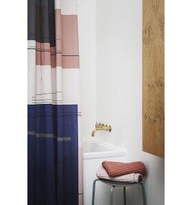 ferm LIVING - Øko badehåndklæde rosa