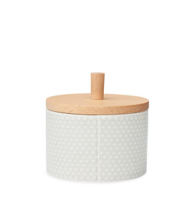 dottir NORDIC DESIGN - Pipanella Lid Jar Small Dot, grey