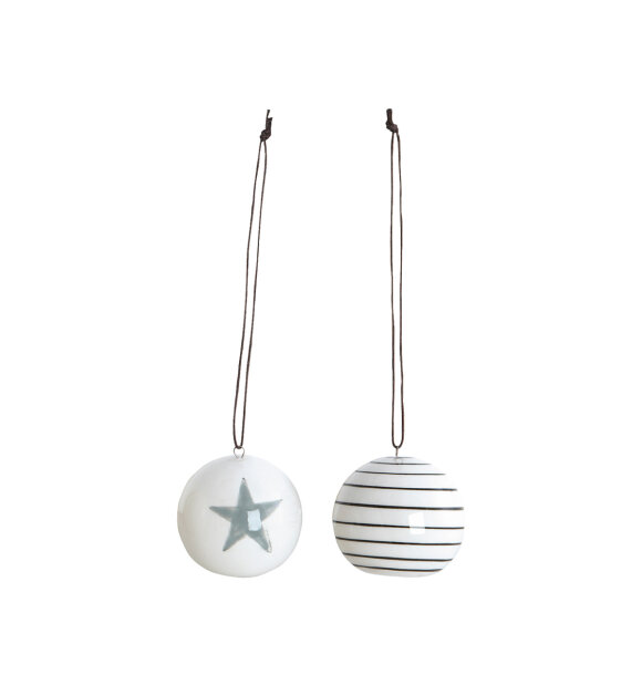 House-Doctor - Stripes and star 4,5cm (2 varianter)