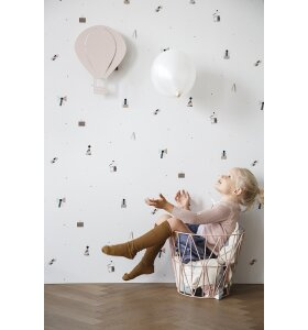 ferm LIVING Kids - Air Balloon lampe - rosa