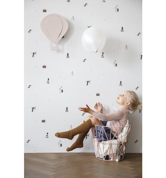 ferm LIVING Kids - Air Balloon lampe - rosa