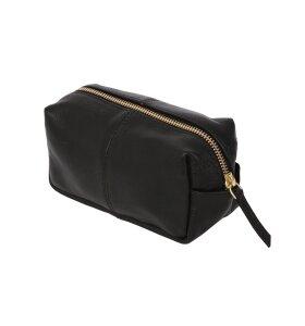 Ørskov - Makeup-pung/lille toilettaske i læder